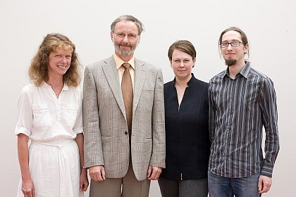 Renate Winter, Ludwig Staiger, Sibylle Schwarz and Jöran Mielke